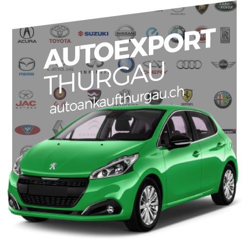 Autoexport Thurgau für jeden Fahrzeugtyp